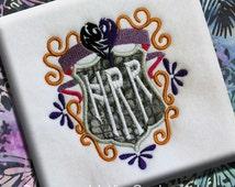 Descendants Evil Malificent Emblem Cameo Crest Machine Embroidery Design Applique Pattern Digital INSTANT DOWNLOAD Evie Snow White Rotten