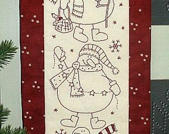 Snow Buddies by The Birdhouse pattern only