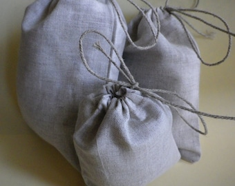 Pure Natural Bags, Candy Bags, Wedding Bag, Cloth Jewelry Bag, Gift Wrapping, Wedding Weekend, set of 25, size 4 x 5 inch