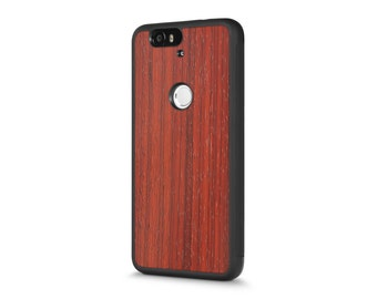 Google Nexus 6P #WoodBack Real Wood Case - Padauk (FREE and Fast Delivery)