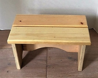 Step stool - unfinished