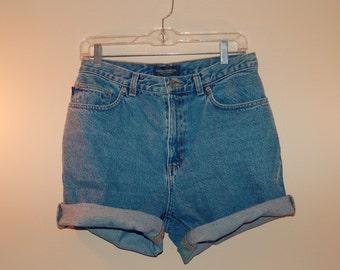 80s/90s Ralph Lauren Jean Shorts Cut Offs Womens Size 6, 8