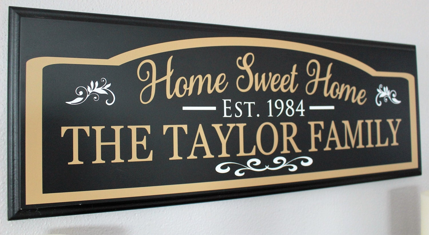 New home housewarming gift first home gift new home sign for New home sign