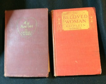 Kathleen Norris Books, one a FIRST EDITION