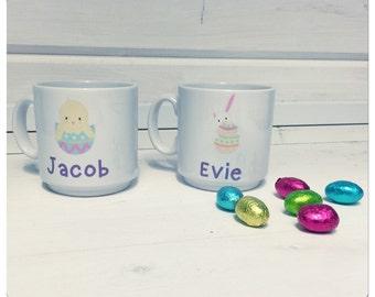 Kiddo Easter Mugs