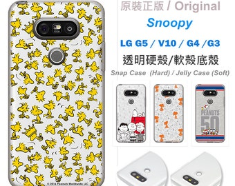 Original Snoopy Licensed  For LG G5 case  ,LG V10 case,LG G5 Phone Case,Leather Cover