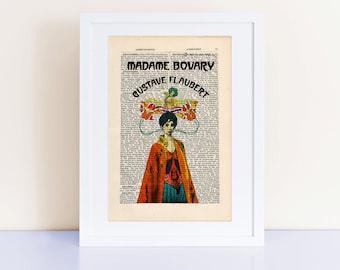 simile and metaphor analysis for madame bovary