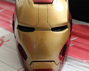 Helmet Iron Man in 3 parts - 3 parts Iron Man Helmet