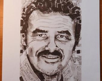A Portrait Of Burt Reynolds