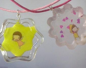 Resin kawaii necklace // SALE!