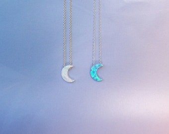 Moon Opal necklace Best Seller Real Sterling Silver Absolutely Adorable and LOWEST PRICE ONLINE anywhere
