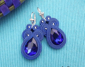 Short  SHAPPIRE soutache  earrings
