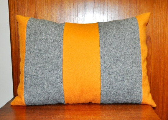 Mid Century Modern Pillow Danish Wool Maharam Fabric by MMDanish