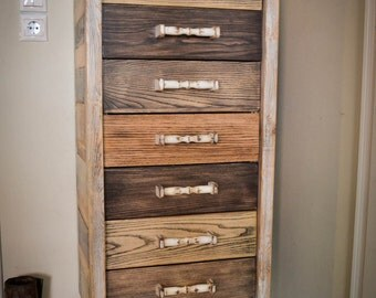 Vintage drawer(SAVE A TREE LINE)