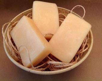 Lemon Soap | Lemon Essential Oil | Handcrafted Cold Process Soap | Rustic Soap Made in Iowa | Paint Creek Soaps