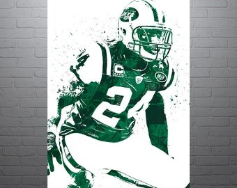 Darrelle Revis New York Jets Poster