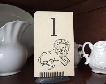 Small Letter L Flashcard--lion--gallery wall or nursery