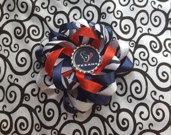 Houston Texans Flower Bow