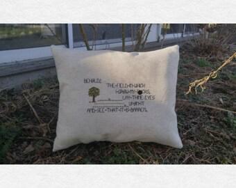 Barren F*ck Field Pillow