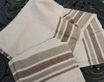 Generously-Large Cottolin Twill Tea Towels