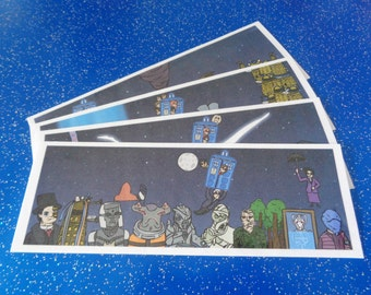 Doctor Who Bookmark- New Who Series
