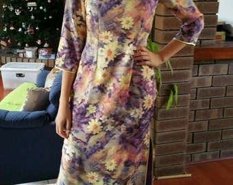 VINTAGE Chinese dress in Lilac
