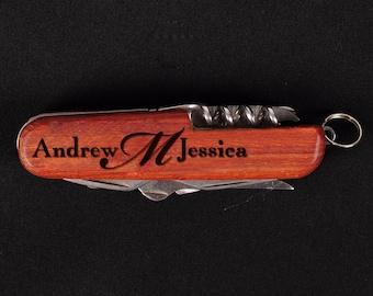 Personalized Knife, Engraved Knife, Wedding Groomsmen Knife, Birthday Gift, Pocket Knife, 5th Anniversary Engraved Knife Gife, Gift For Men
