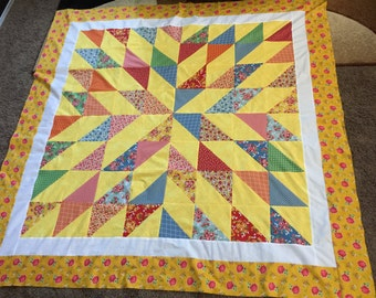QUILT TOP: You Are My Sunshine