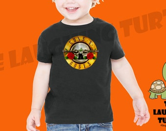 Guns And Roses. GNR. Toddler T-shirt. Cool. 100% Cotton.