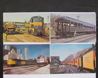Vintage Railroad - Transportation Postcards