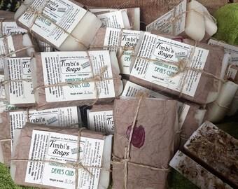 Frankincense & Myrrh Devil's Club Soap