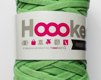 Hoooked RibbonXL, green, 120m per roll (0,08 Euro/m)