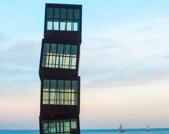 Barcelona Beach Little boxes (L'Estel Ferit)