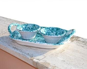 Traditional Italian ceramics years 50. Traditional Italian ceramics 50s.