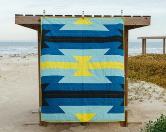 Low Tide Quilt - Throw size