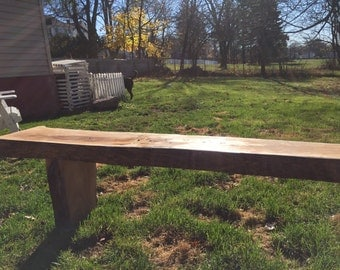 Superior Live Edge Bench I Entry Bench I Rustic Bench I Mudroom Bench