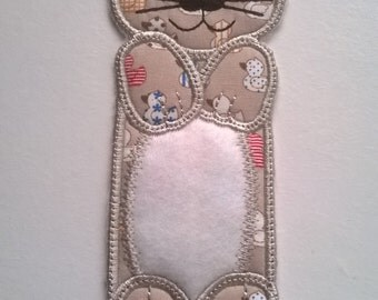 Cute Cat bookmark, Child,Adult, holiday, camping bedtime story