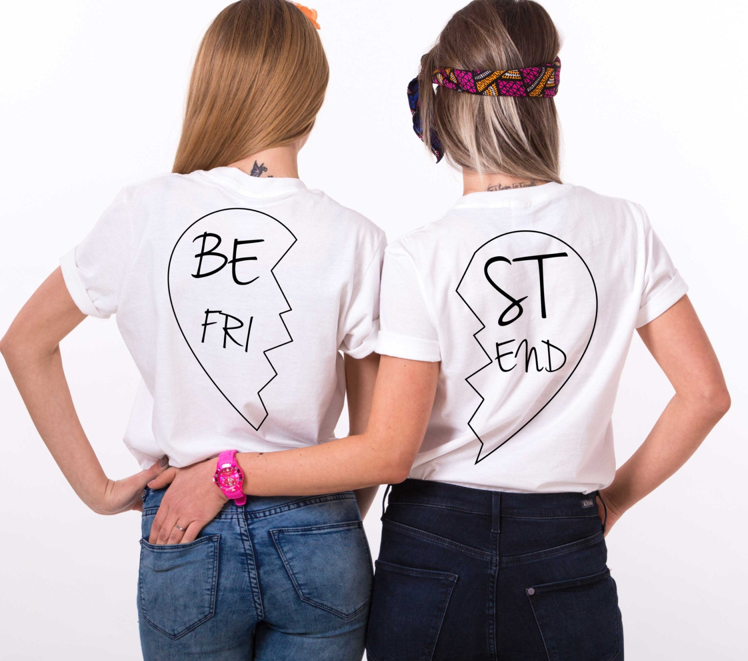 best friend shirts bff shirts matching best friend shirts. Black Bedroom Furniture Sets. Home Design Ideas