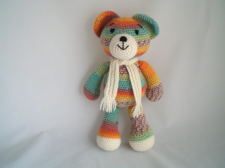 Amigurumi Teddy Bears : Crochet Teddy Bear / Amigurumi Teddy Bear / Crochet Bear with
