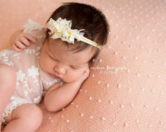 Newborn Photography Prop {Sunshine Headband}