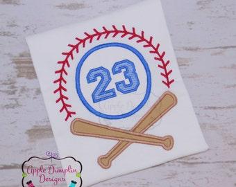 Baseball Bat Monogram Applique Design, Machine Embroidery Design, Boy Baseball, Girl baseball, Sports, Monogram,  4x4, 5x7, 6x10