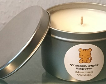 Soy Candle - Mexican Vanilla