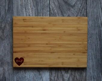 Personalized Cutting Board, Wedding Gift Cutting Board , Wedding Present, Custom Wedding Gift, Personalized Gift, Personalized Wedding Gift