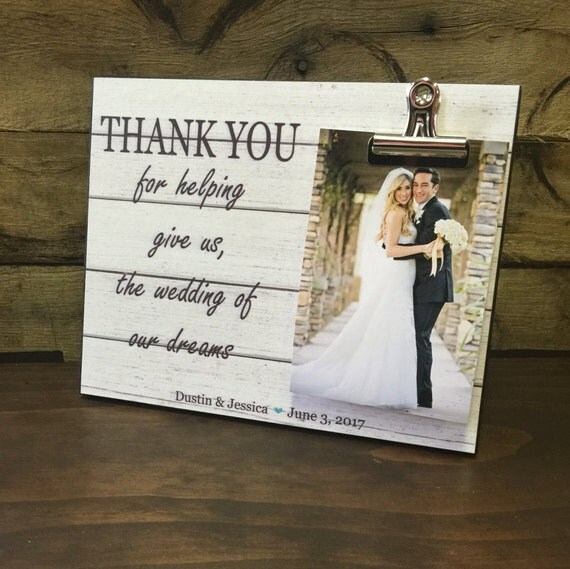 Thanks For The Wedding Gift: Wedding Officiant Gift Wedding Gift Thank You By
