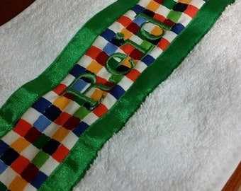 Made to order Baby Burp Cloth