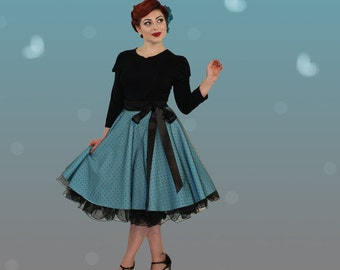 super sweet swinging skirt with tulle