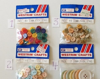Fashion Craft Buttons by Westrim