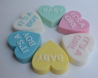 BABY SHOWER HEART Soap