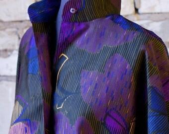 Early 90s Jacket Purple Pattern Felicia
