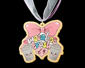 Weeaboo Trash necklace - anime, kawaii